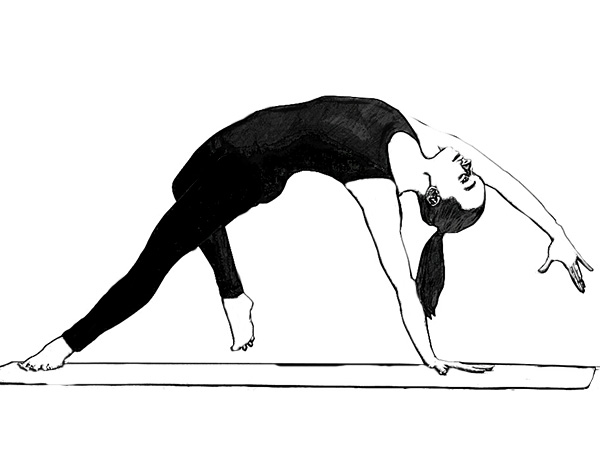 Camatkarasana (Wild Thing Pose) To Improve Blood Circulation