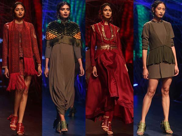Opening Show: Tarun Tahiliani's Collection At Lakme Fashion Week Winter/Festive 2016