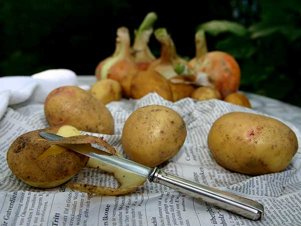 Benefits Of Eating Potato Peels - Boldsky com