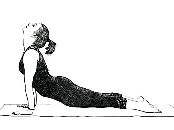 Urdhva Mukha Svanasana (Upward Facing Dog Pose) For Fatigue