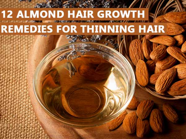 almond hair growth remedies