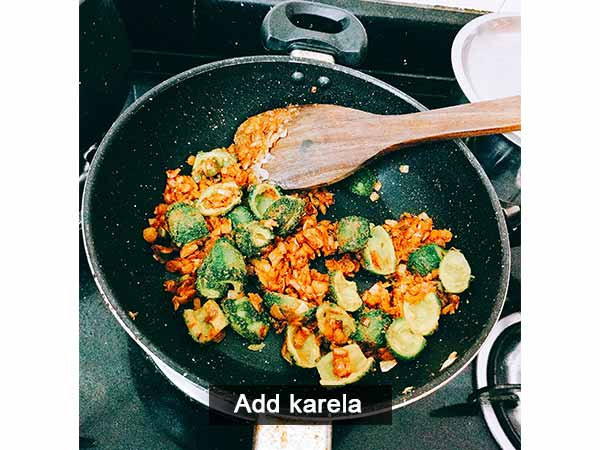Mini karela sabji recipe