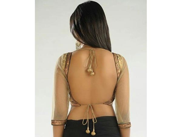 Navratri Special: Sexy Backless Blouses
