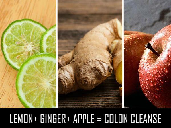 lemon ginger apple colon cleanse. Black Bedroom Furniture Sets. Home Design Ideas