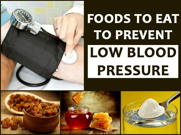 Foods To Eat To Raise Low Blood Pressure