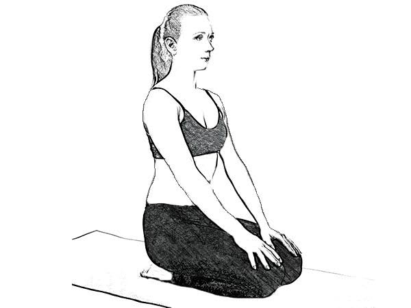 vajrasana for better digestion