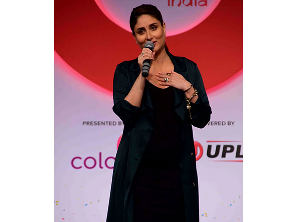 Mommy-to-be Kareena Kapoor Steals Hearts In A Black Dress At Global Citizen Meet