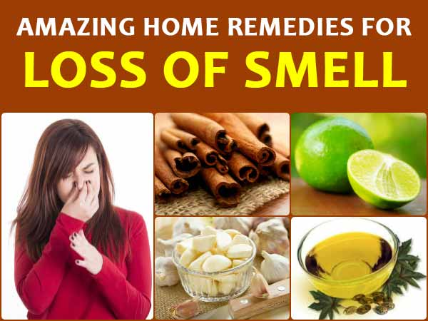 8 Amazing Home Remedies For Loss Of Smell - Boldsky.com