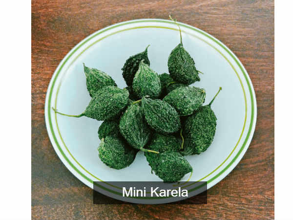 Mini Karela Or Bitter Gourd Sabji Recipe