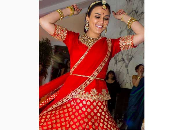 Preity Zinta Wedding