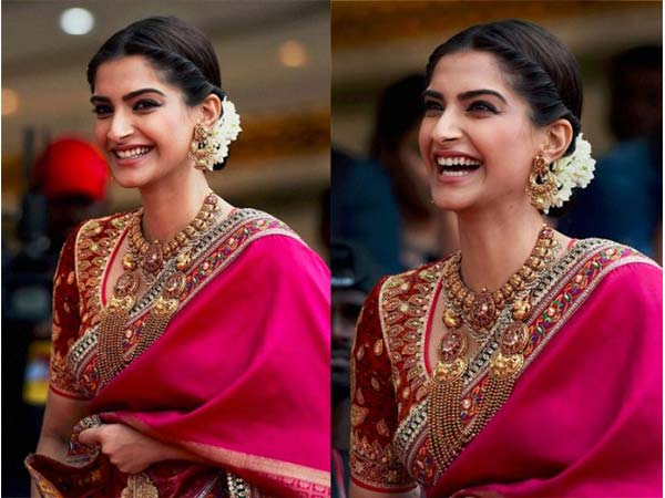 How Lovely! Sonam Kapoor Caught Candid In Chennai In A