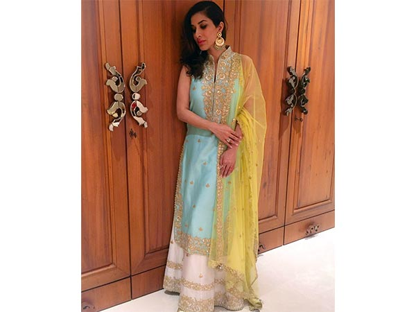 This Is What Sophie Choudry Wore On Eid