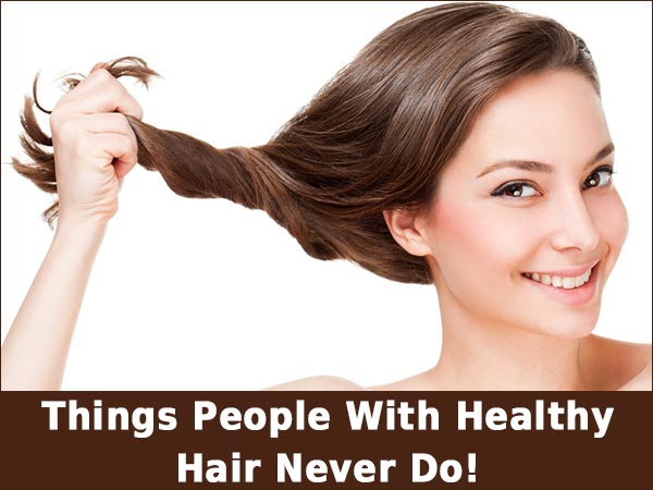 healthy hair habit