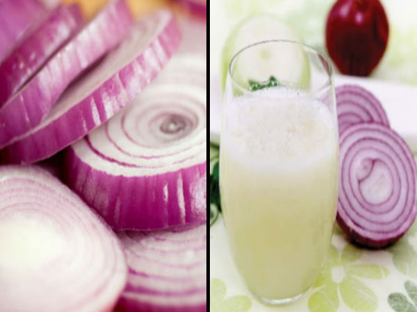 onion juice for hair fall