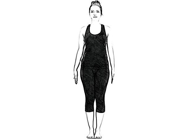 Dwi Pada Viparita Dandasana (Upward Facing Two Foot Staff Pose) To Strengthen Back