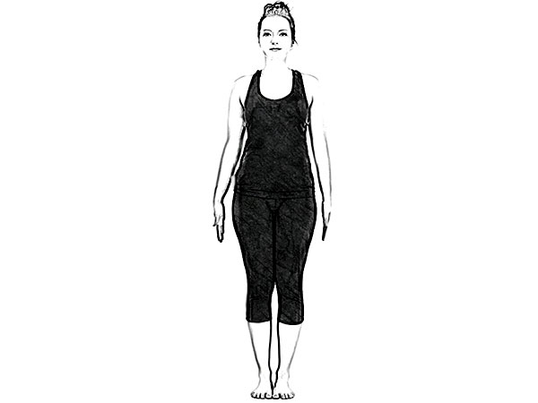 Vrikshasana (Tree Pose) To Make The Legs Strong