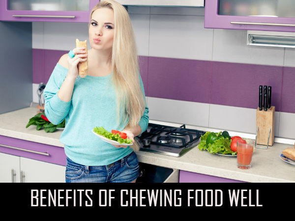 Benefits Of Chewing Food Well