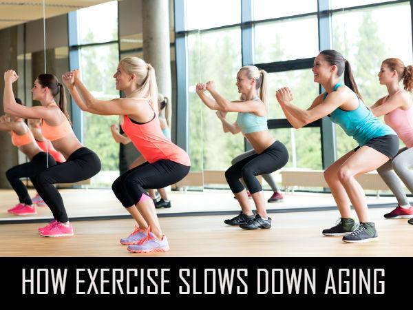 Ways Exercise Reduces Age