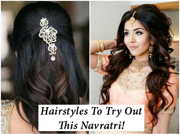 Hairstyles To Try Out This Navratri!