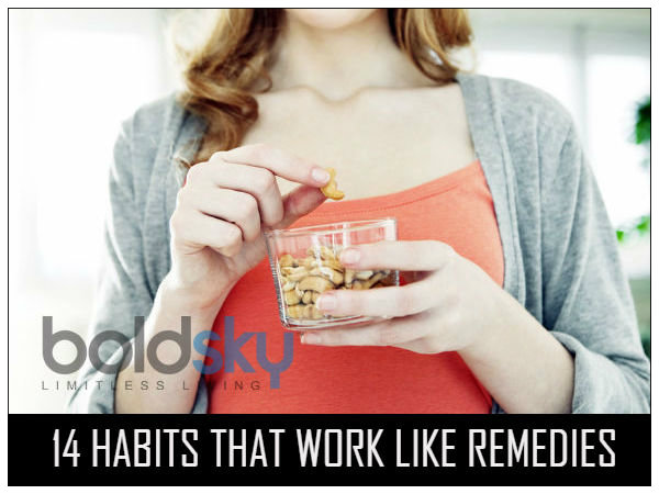 14 Habits That Work Like Remedies