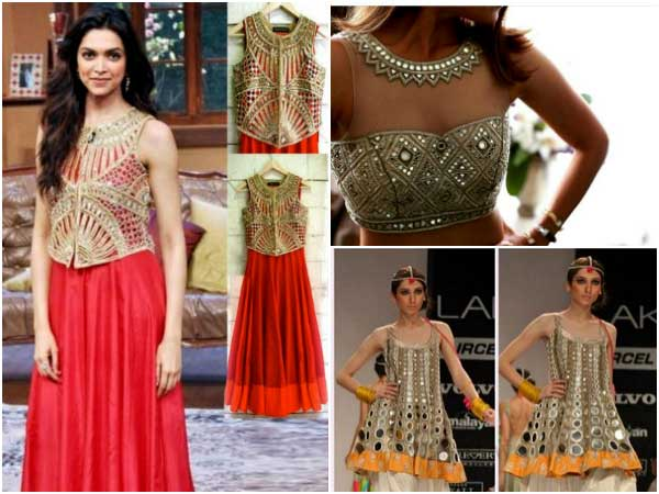 Navratri Special: 7 Gujarati Mirror work Dresses To Nail Dandiya/Garba This Festival Season