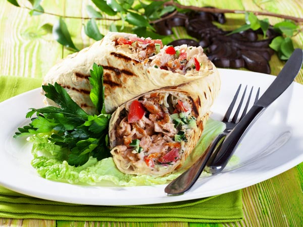 Tasty Chicken Shawarma Wrap Recipe For Bakrid