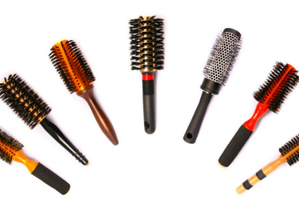 Hair Styling Brushes Which Hair Styling Brush Is Right For Your Hair  Boldsky