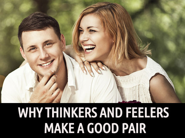 thinkers and feelers in relationship
