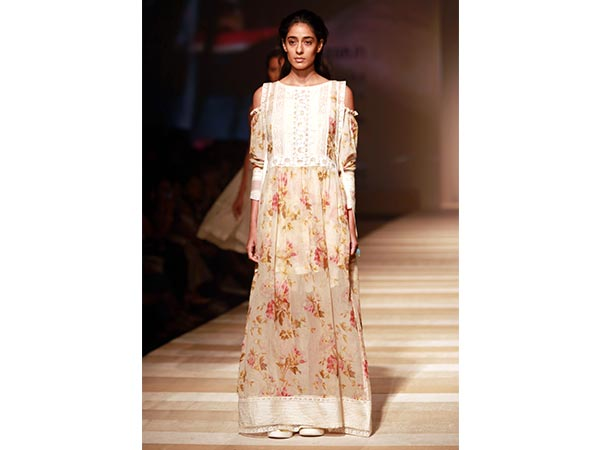 Take a look at an exquisite collection by industry's top fashion designers on the first day of Amazon India Fashion Week SS 2017.