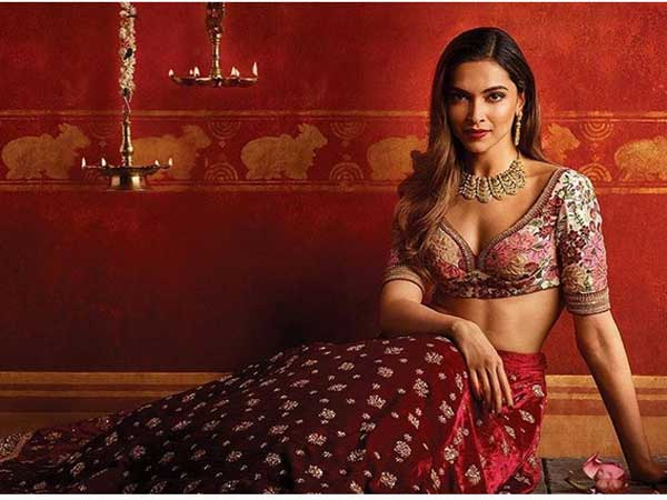 Deepika Padukone Gets Ready For Navratri