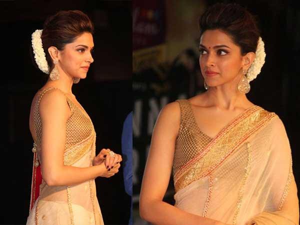 Deepika Padukone Hairstyles Deepika Padukone Sarees ...