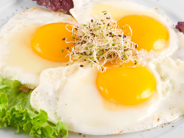 Add Eggs To Salads To Boost Vitamin E Absorption