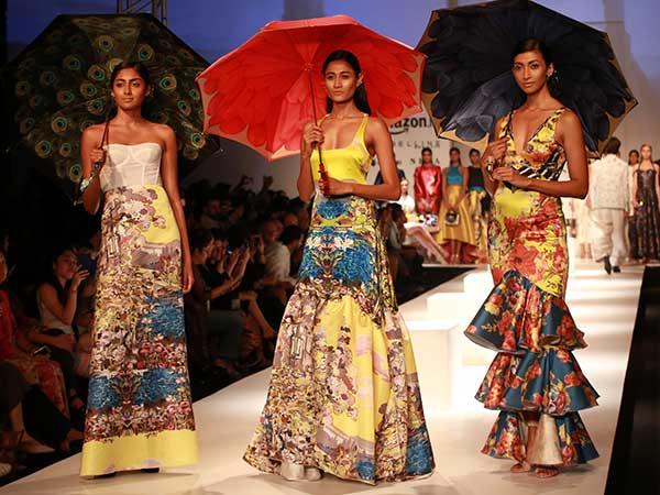 Italian Fashion Show: Amazon India Fashion Week S/S 2017 ...