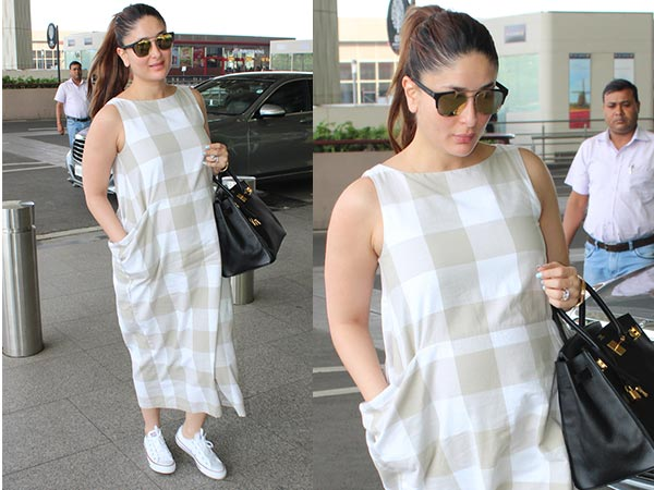 Soon-to-be Mom Bebo In White Sneakers