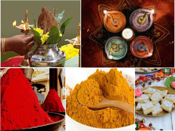 The Lakshmi Puja Vidhi For Diwali