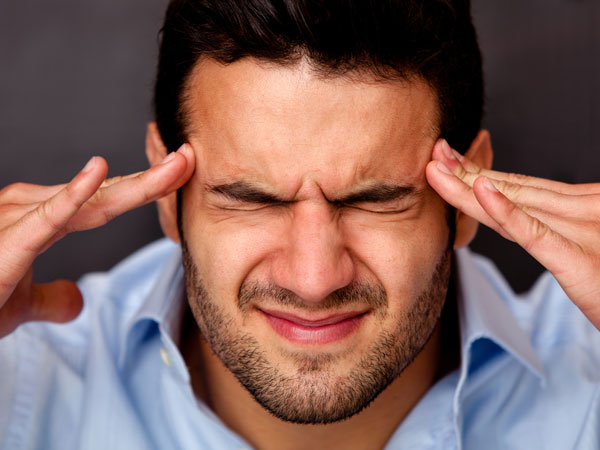 signs of second hand stress