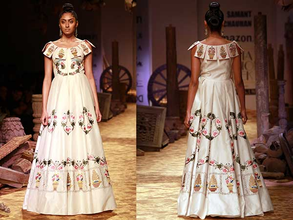 Samant Chauhan's Magnificent Gown #AIFW