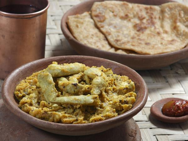 Arbi Masala Vrat Recipe For Navratri