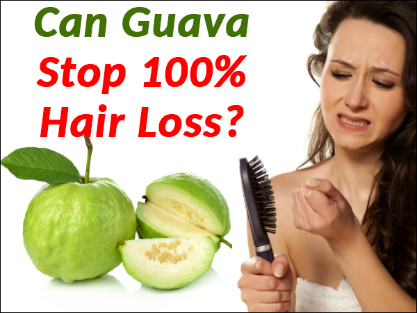 GUAVA FOR HAIR LOSS