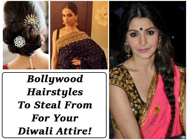 Bollywood Hairstyles To Steal From For Your Diwali Attire!