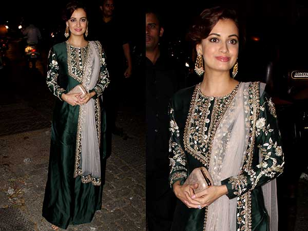 Dia Mirza's Pre-Diwali Look Deserves A Huge Shout Out