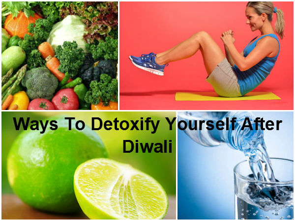 Ways To Detoxify Yourself After Diwali