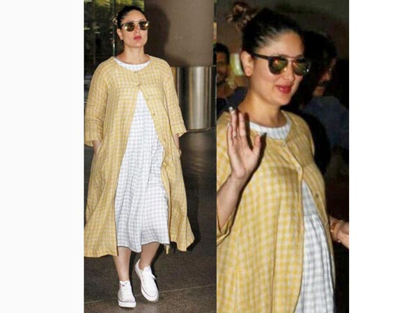 We Literally Cannot Take Our Eyes Off Mommy-to-be Kareena Kapoor's Latest Outfit