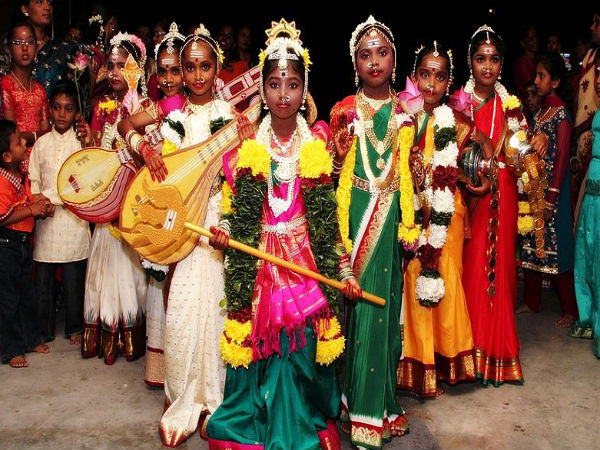 how saraswati puja is celebrated in South india