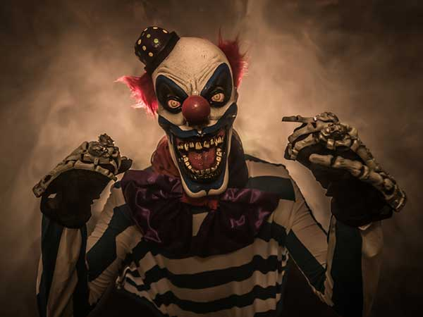Creepy Cases Of Clown Sighting
