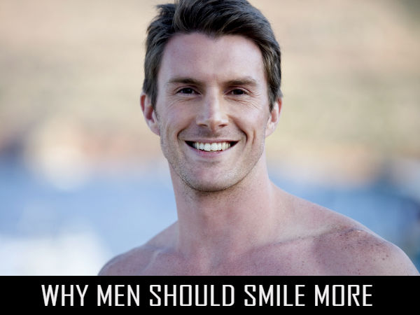 Why Men Should Smile More