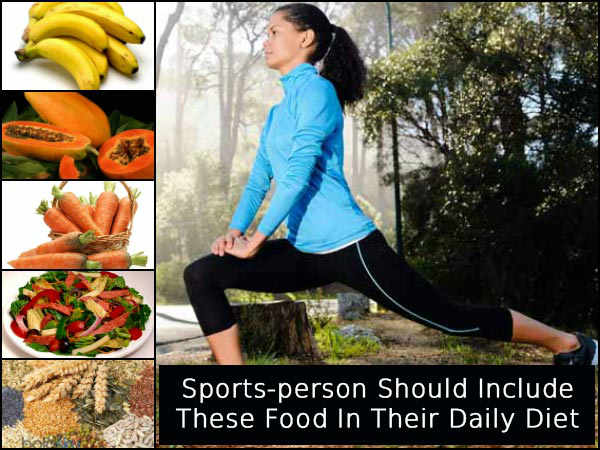 Are You Into Sports? Then You Should Include These Foods In Your Daily Diet!