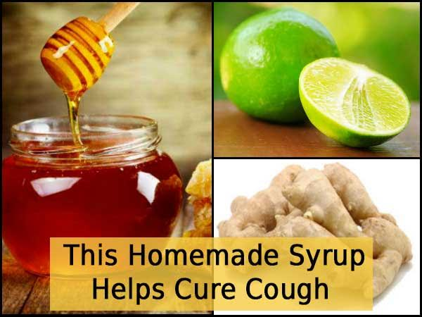 This Homemade Syrup Helps Cure Cough