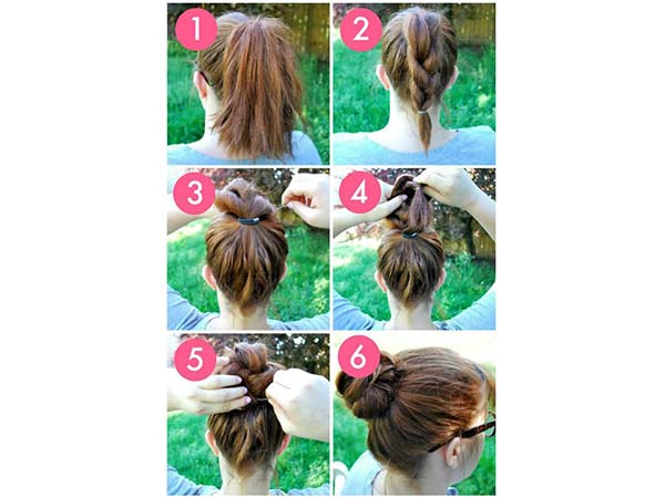 5-minute hairstyles to try