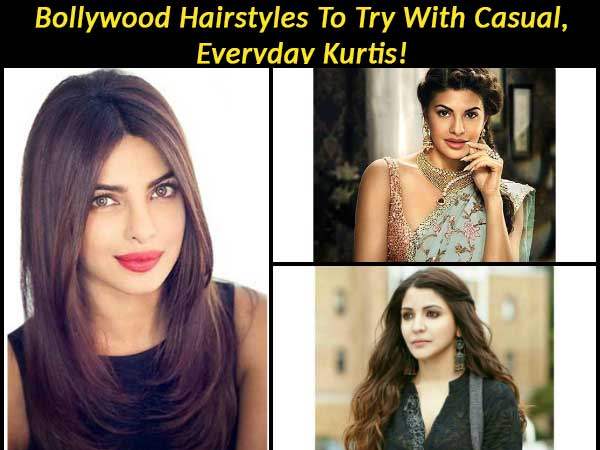 Bollywood Hairstyles To Try With Casual Everyday Kurtis Boldsky